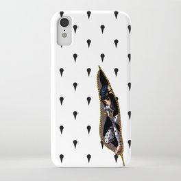 JoJo - Bruno Bucciarati Pattern [Zipper Ver.] iPhone Case