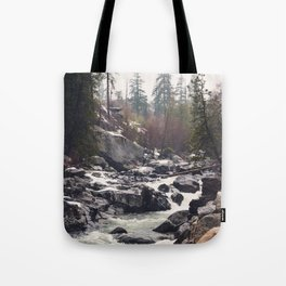 Morning Mountain Escape - Nature Photography Tote Bag