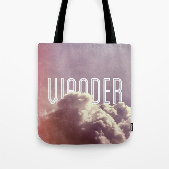 Wander (vertical) Tote Bag