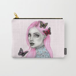 Pink haired girl Carry-All Pouch