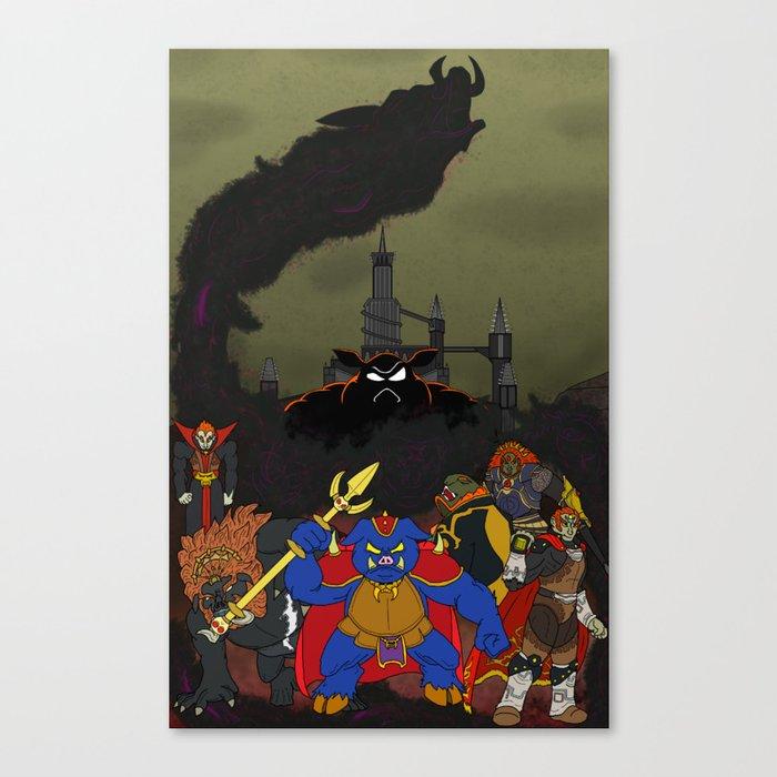 Demon of Power Canvas Print