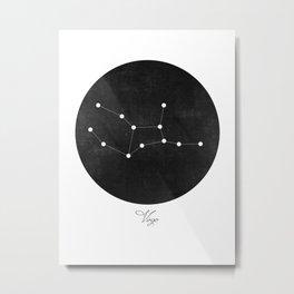Virgo Constellation Art Print  Metal Print