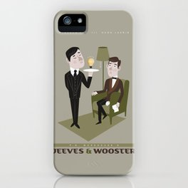 Jeeves & Wooster iPhone Case