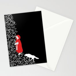 Little Red - Dark Stationery Cards