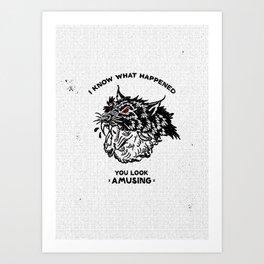 Wolf & Sheep Art Print