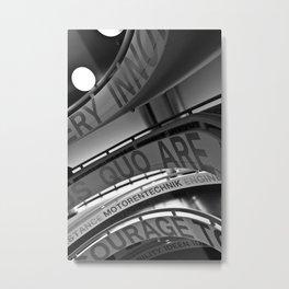 Motorentechnik Metal Print