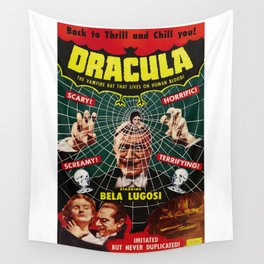Dracula, vintage horror movie poster, 1931 Wall Tapestry