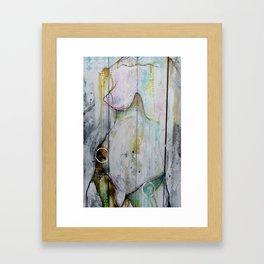 Ice Queem Framed Art Print