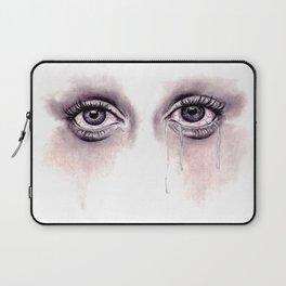 Bloodshot Eyes Doodle  Laptop Sleeve