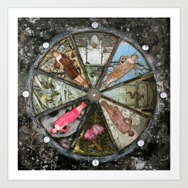 Wheel in the Sky Art Print