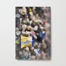 A Cool Gross Bubblegum Alley San Luis Obispo Metal Print