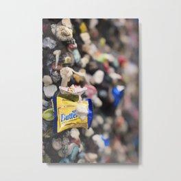 A Cool Gross Bubblegum Alley San Luis Obispo Metal Print