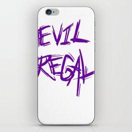 Evil Regal  iPhone Skin