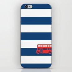 British Double Decker Bus iPhone & iPod Skin