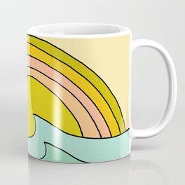 daydreams glassy swells and sunrise radiate by surfy birdy Coffee Mug
