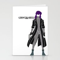 ghost in the shell Stationery Cards featuring Ghost in the Shell by Krbshadow