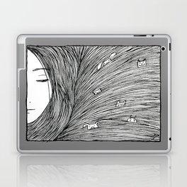 Separated grey Laptop & iPad Skin