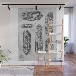 Arrangement of Crystals Wall Mural