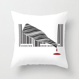 Spilt Wine Throw Pillow