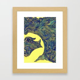 Woman of the Wind II Framed Art Print
