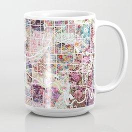 Des Moines map Coffee Mug