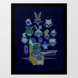 Wevenge! Art Print