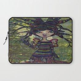 Treesa the tree fairy (Creepy Cutie Series) Laptop Sleeve