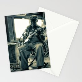 Hosea Hargrove, The Godfather Of Austin Blues Stationery Cards