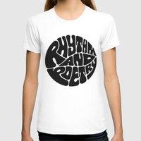 rap T-shirts featuring Rap by guissëpi