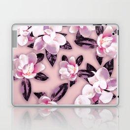 Sweet Mauve Magnolias Laptop & iPad Skin