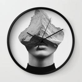 INNER STRENGTH Wall Clock