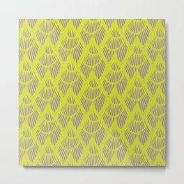 Lapices-Olive Metal Print