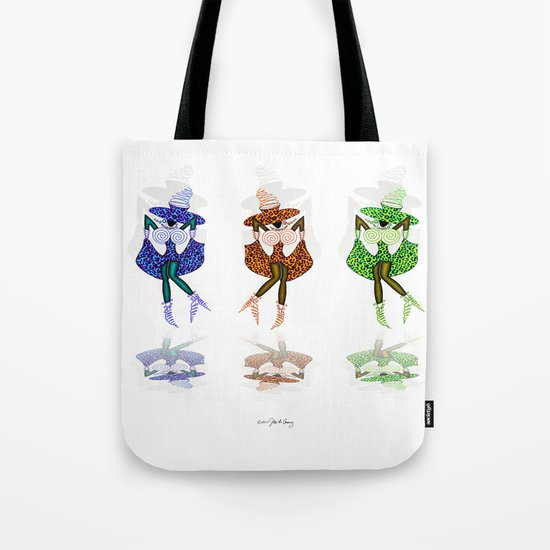 CAN CAN GIRLS Tote Bag