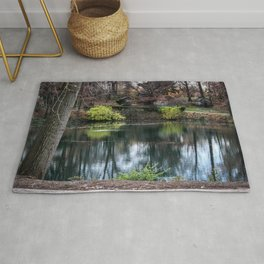 Cemetery Reflections Rug