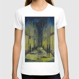 Evening shopping on Pride Hill Shrewsbury - UK T-shirt