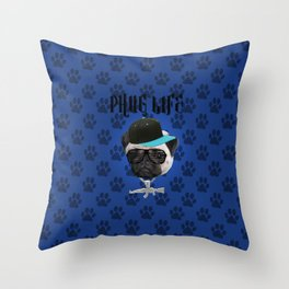 Phug Life Throw Pillow