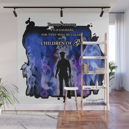 Police Tribute Wall Mural