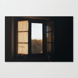 Morning Light in Cortona Canvas Print