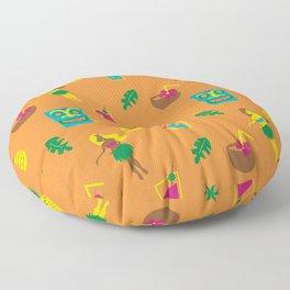 Tiki Drank Floor Pillow