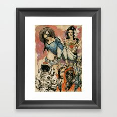 The Small Things Framed Art Print
