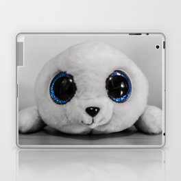Huggable photogenic seal Laptop & iPad Skin