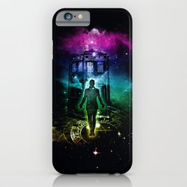 time traveller v2 iPhone Case