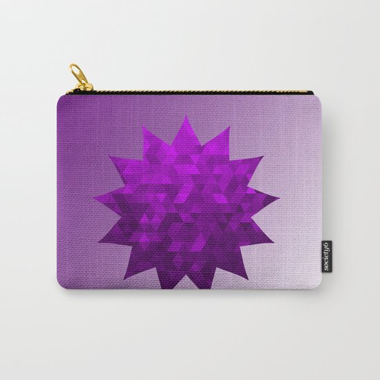 Kwan Yin's Star | Purple Flame | Compassion Carry-All Pouch