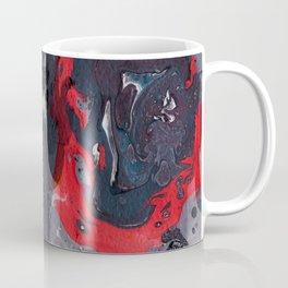 Purple Butterfly Marble Painting Coffee Mug