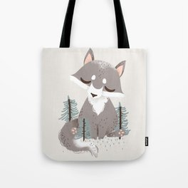 "The ""Animignons"" - the Wolf Tote Bag"