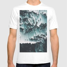 THE JEWELLER'S HANDS MEDIUM White Mens Fitted Tee