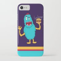 hamburger iPhone & iPod Cases featuring Hamburger! by Chelsea Herrick