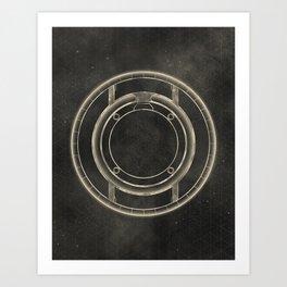Tron: Identity Disc Art Print
