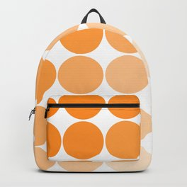 Orange Circle Color Charts Backpack