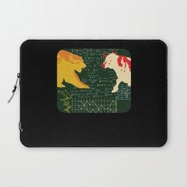 Bull And Bear Laptop Sleeve